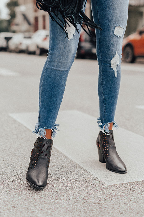 The Ronan Bootie In Black