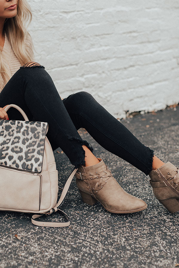The Phoebe Bootie In Taupe
