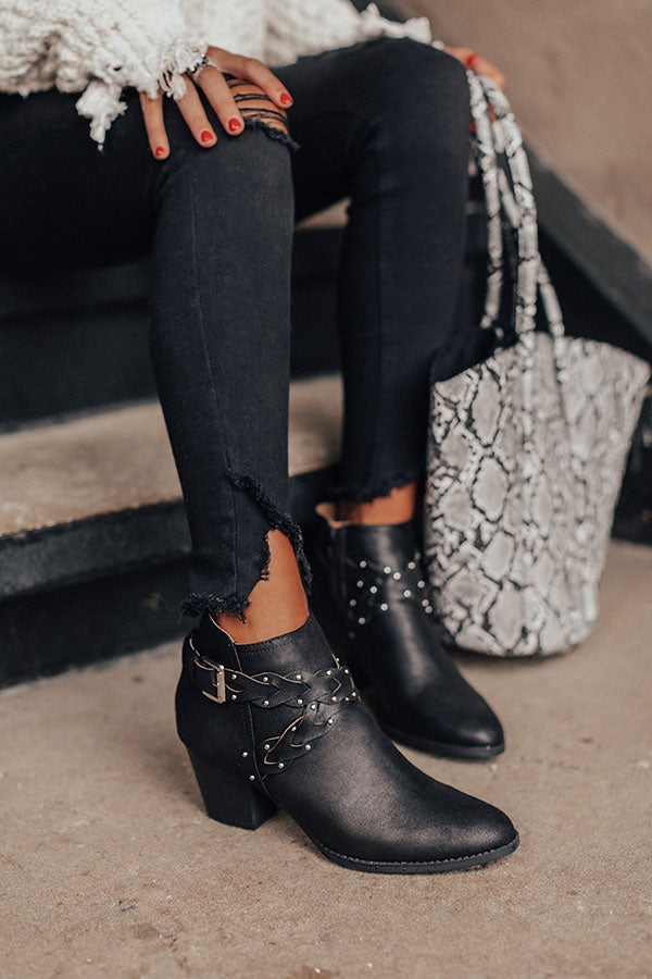 The Phoebe Bootie In Black