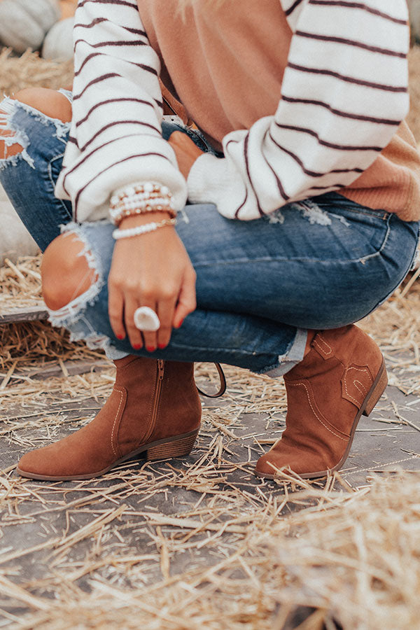 The Annabeth Bootie In Brown