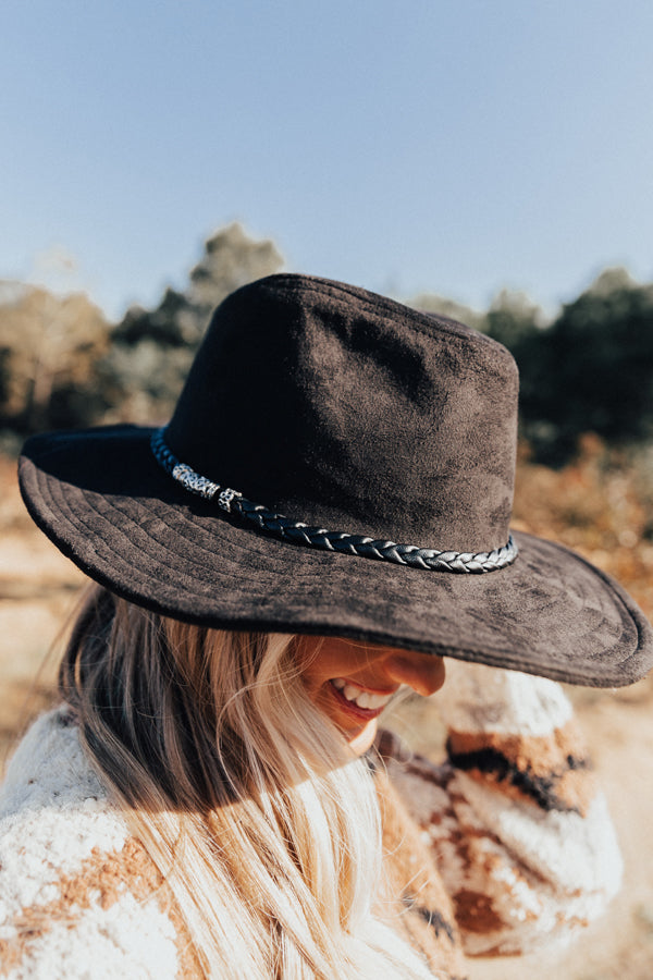 Evening Adventure Hat In Black