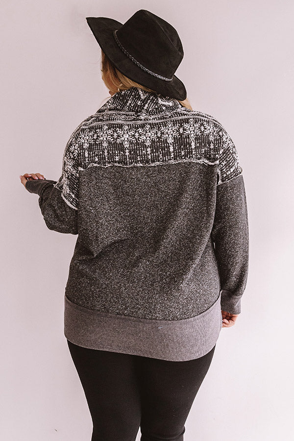 Chilly Situation Shift Sweater