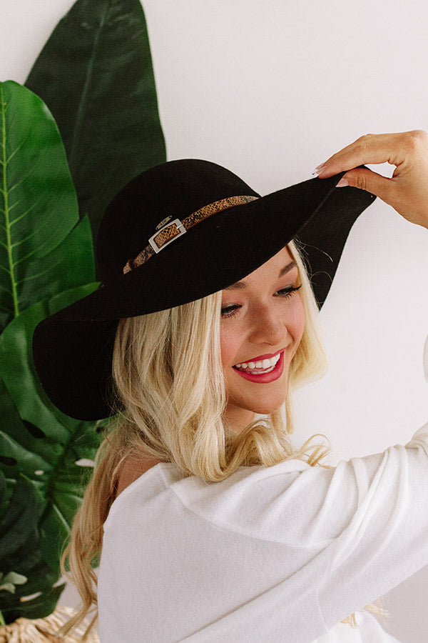 Bound For Broadway Hat In Black