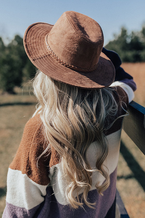 Evening Adventure Hat In Brown