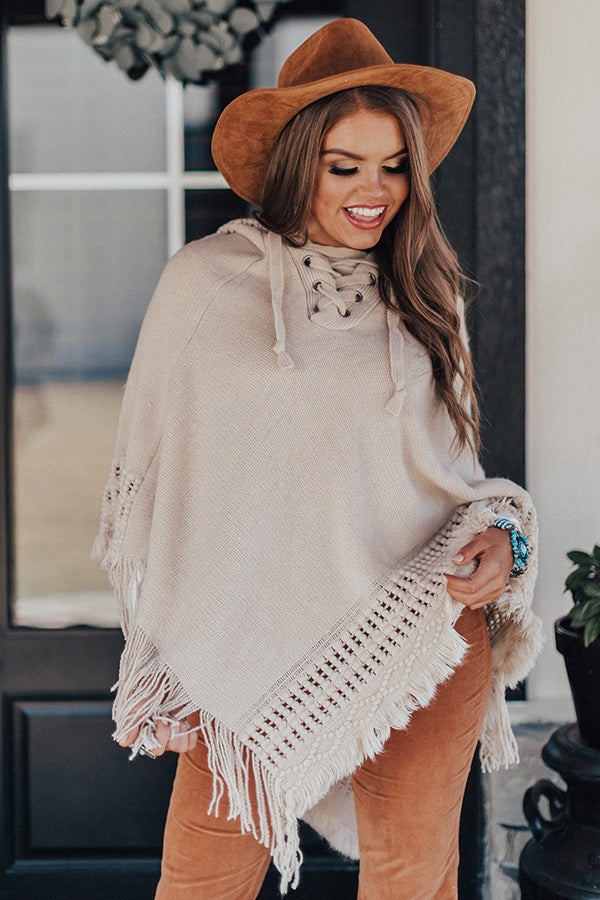 Endless Inspiration Poncho