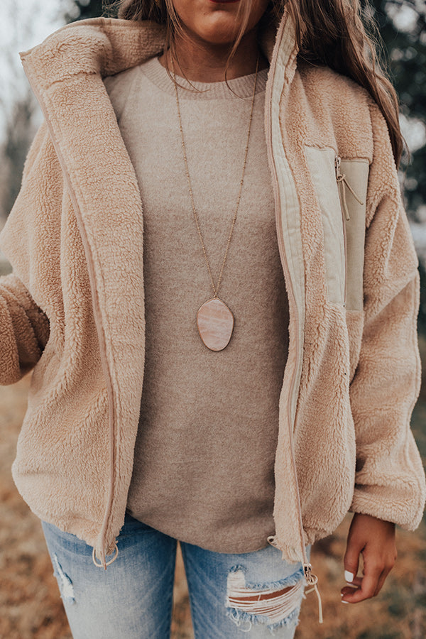 Soho Twilight Semi Precious Necklace in Blush