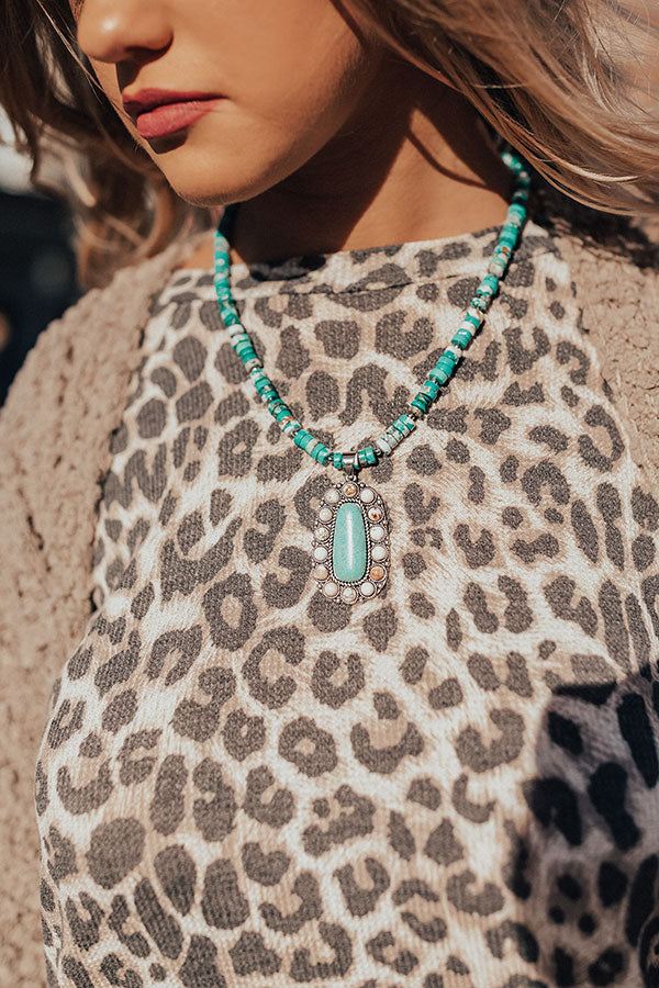 Pure Sweetness Turquoise Necklace