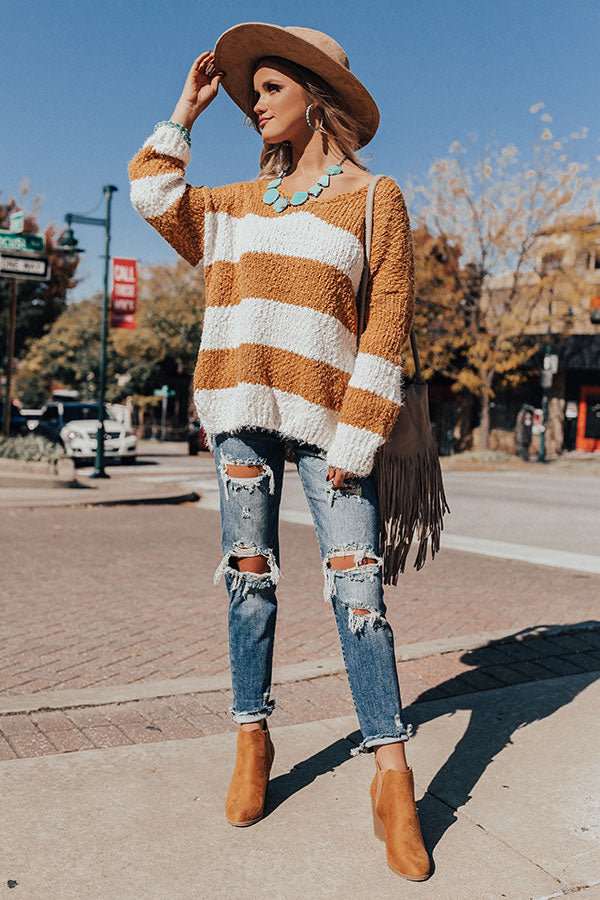 Happiness On The Horizon Knit Sweater
