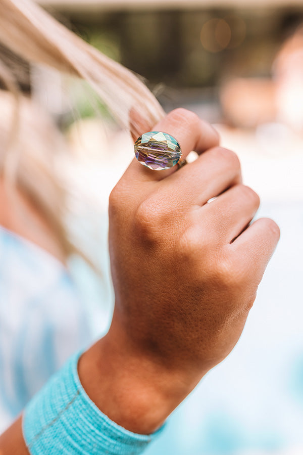 The Latest in Luxury Ring in Turquoise