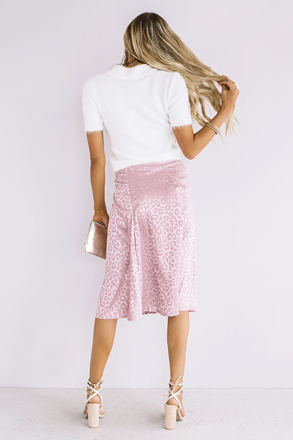 The Finer Things Satin Skirt