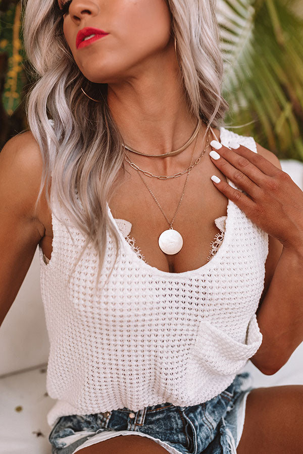 Call Me Cutie Layered Necklace