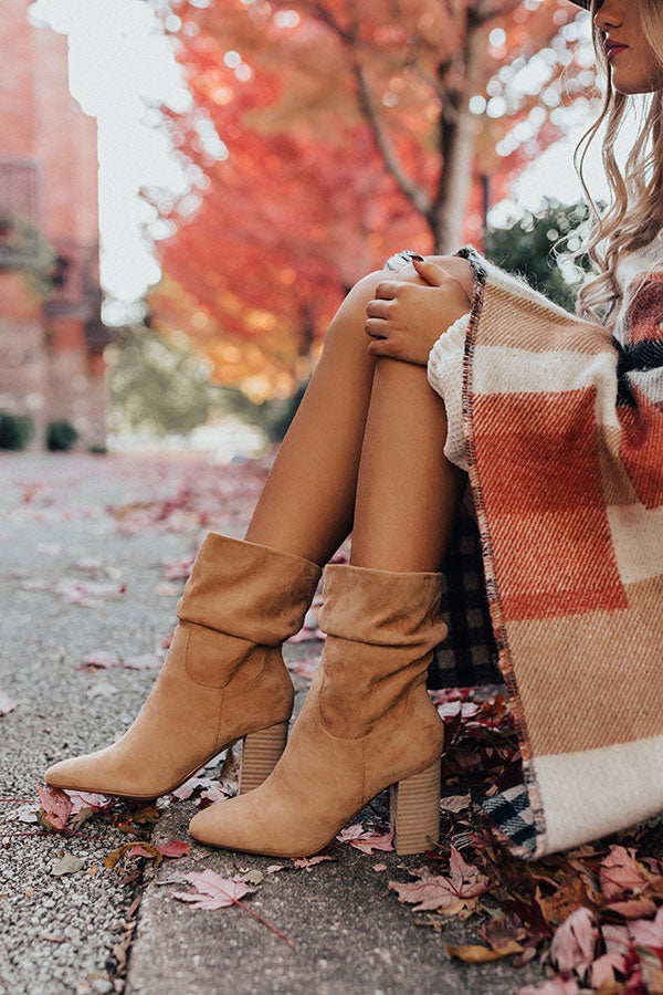 The Laurette Ankle Bootie In Iced Mocha