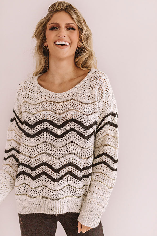 Unbreakable Bond Knit Sweater