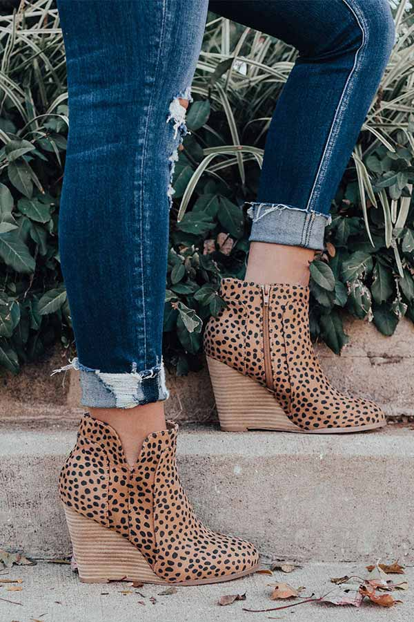 The Cabo Cheetah Print Bootie