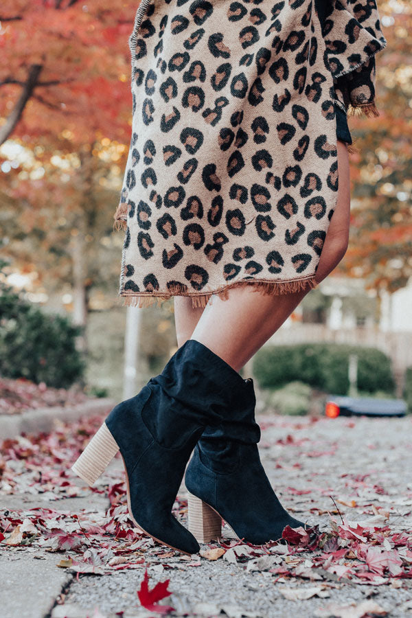 The Laurette Ankle Bootie In Black