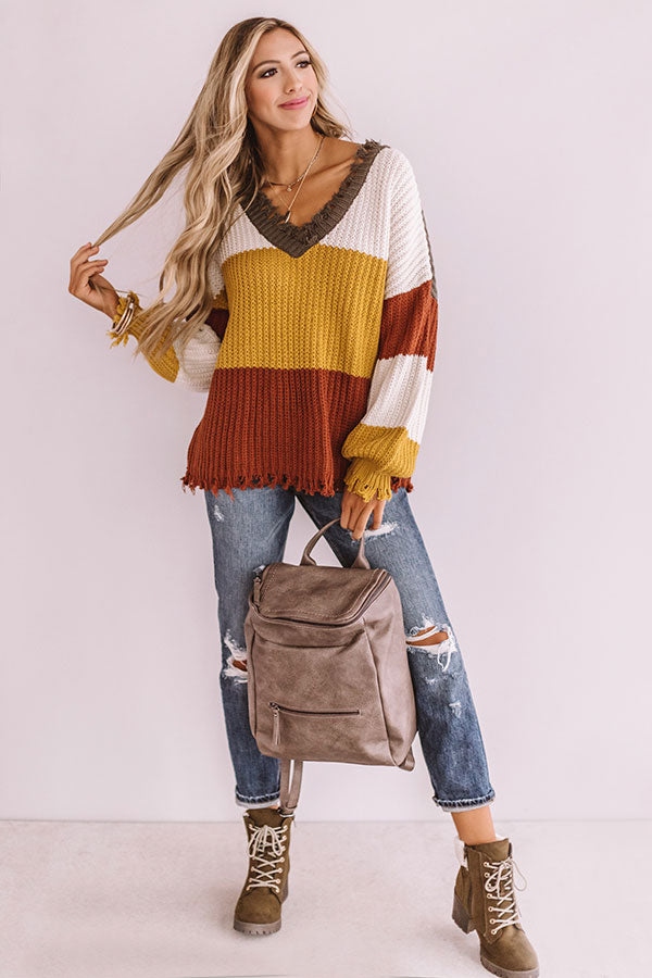 Meet Me In Aspen Knit Sweater
