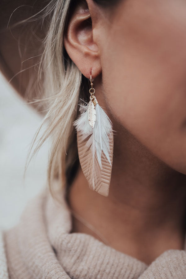 Time To Treat Yourself Earrings