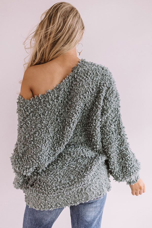 Keep It Close Knit Sweater in Pear