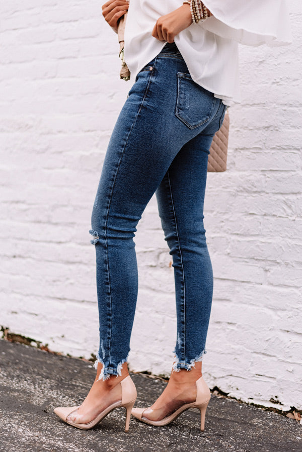 The Nicolette High Waist Ankle Skinny