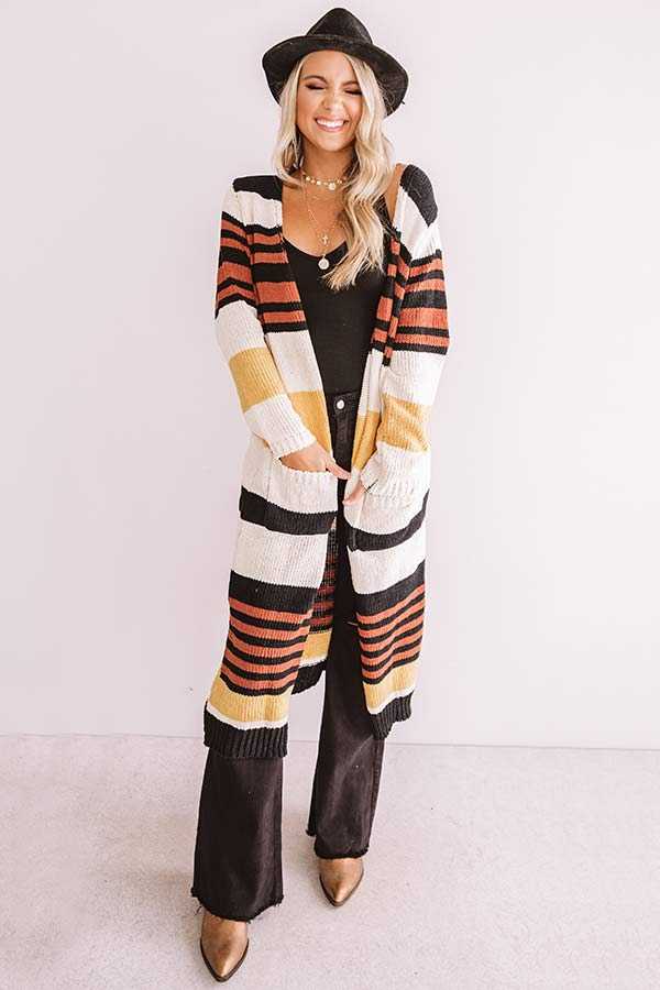 Songs About Love Stripe Cardigan