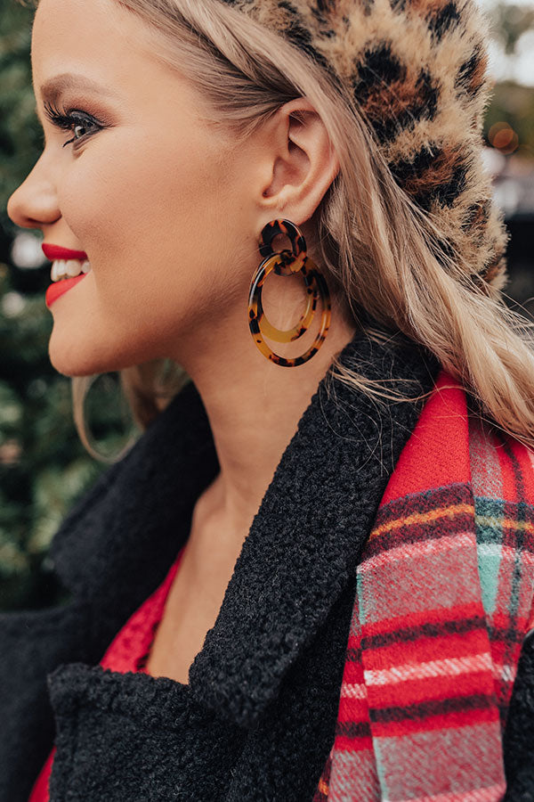 The Real Deal Tortoiseshell Earrings