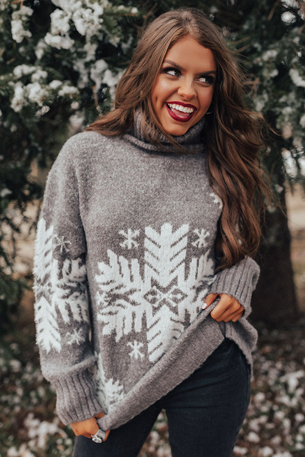 Snowfall Fabulous Shift Sweater