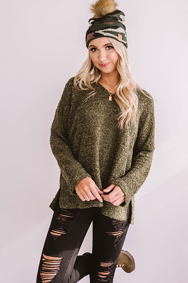 Pretty And Poised Shift Sweater