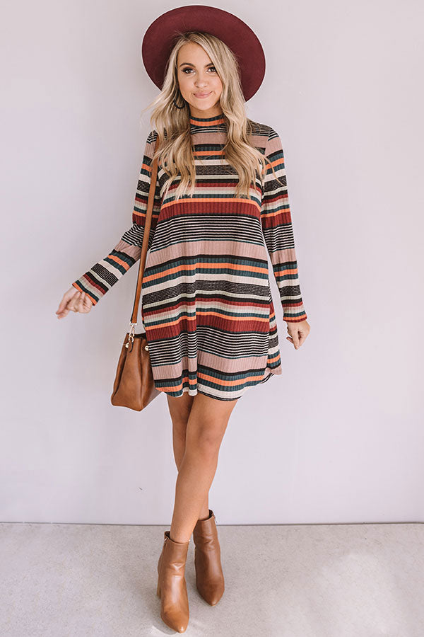 Weekend Wanderlust Stripe Shift Dress