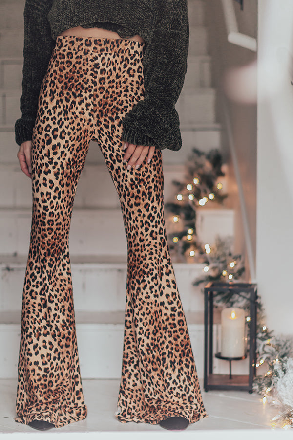 Feeling Extra Leopard Flare