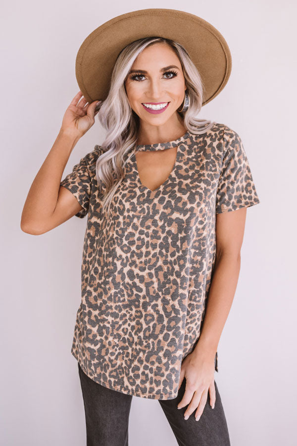 Busier Than Ever Leopard Top