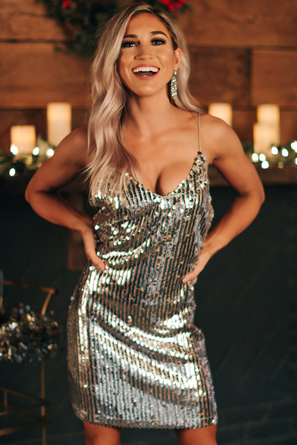 VIP Entrance Sequin Dress