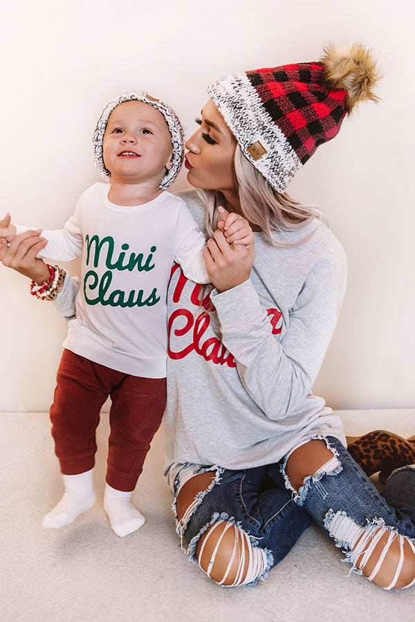 Mini Claus Children's Sweatshirt