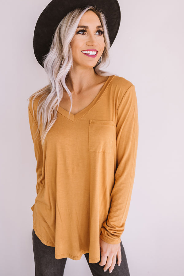 Cocoa Occasion Shift Top
