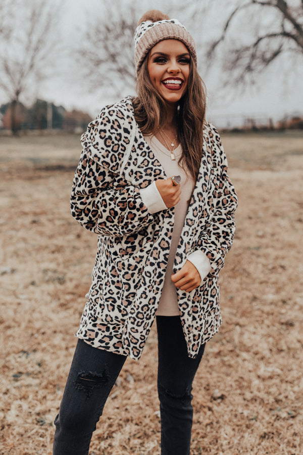 Rock The Room Cheetah Cardigan