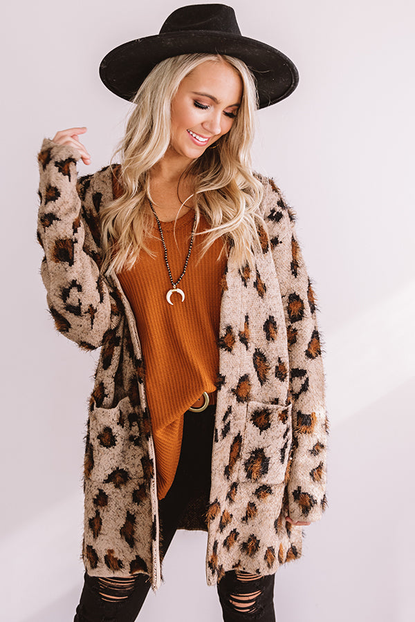 Spotted Perfection Leopard Cardigan
