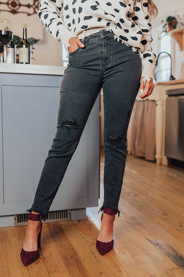 The Hudson High Waist Relaxed Skinny