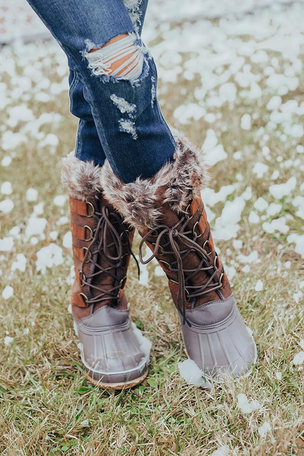 Snowfall Fabulous Boot In Brown
