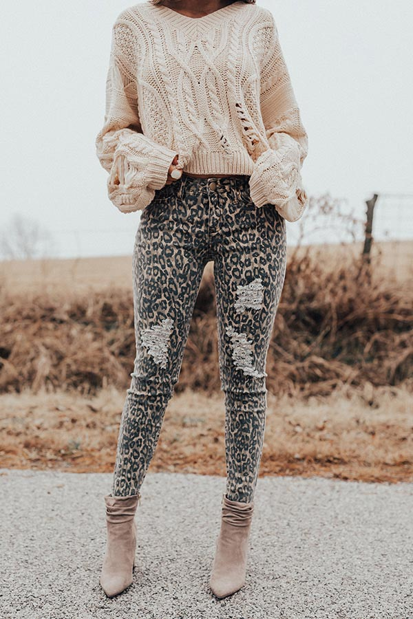 The Gigi Midrise Distressed Skinny