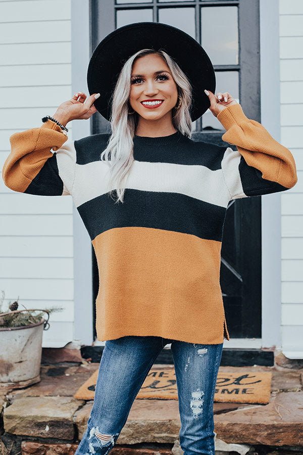 Meant To Mesmerize Stripe Sweater