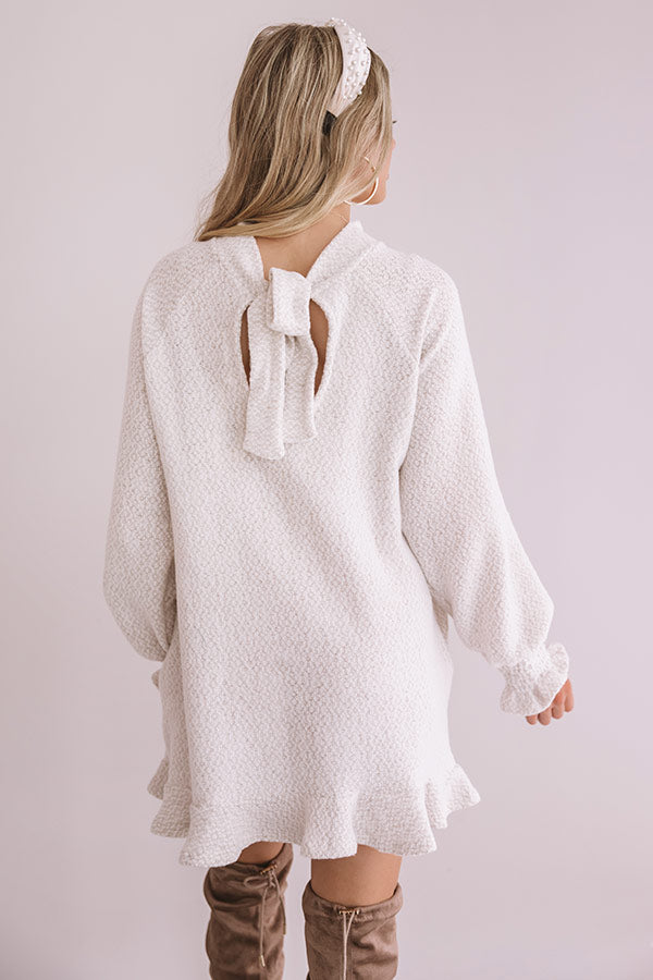 Sipping Cider Shift Tunic