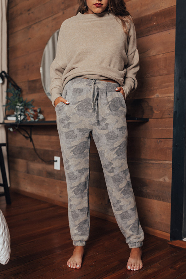 Just Chill Camo Joggers