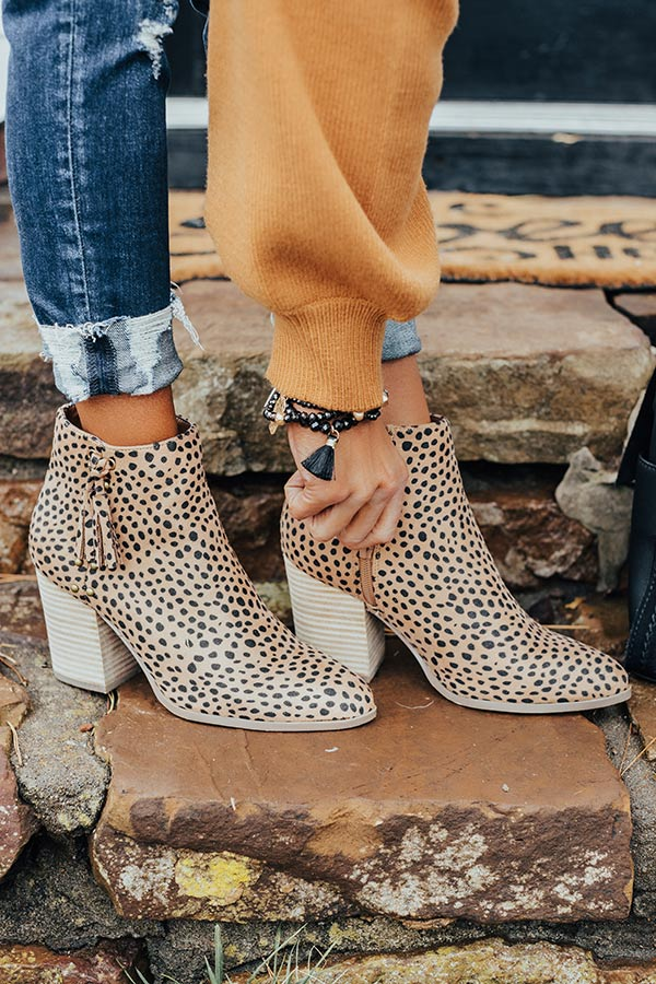 The Bowie Cheetah Print Bootie