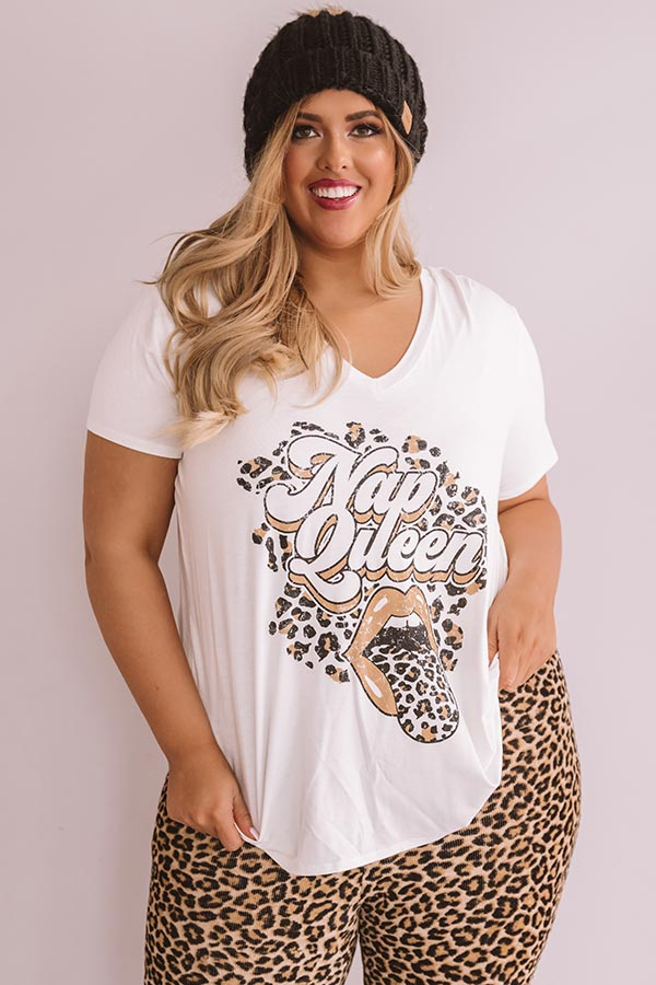 Nap Queen Shift Tee