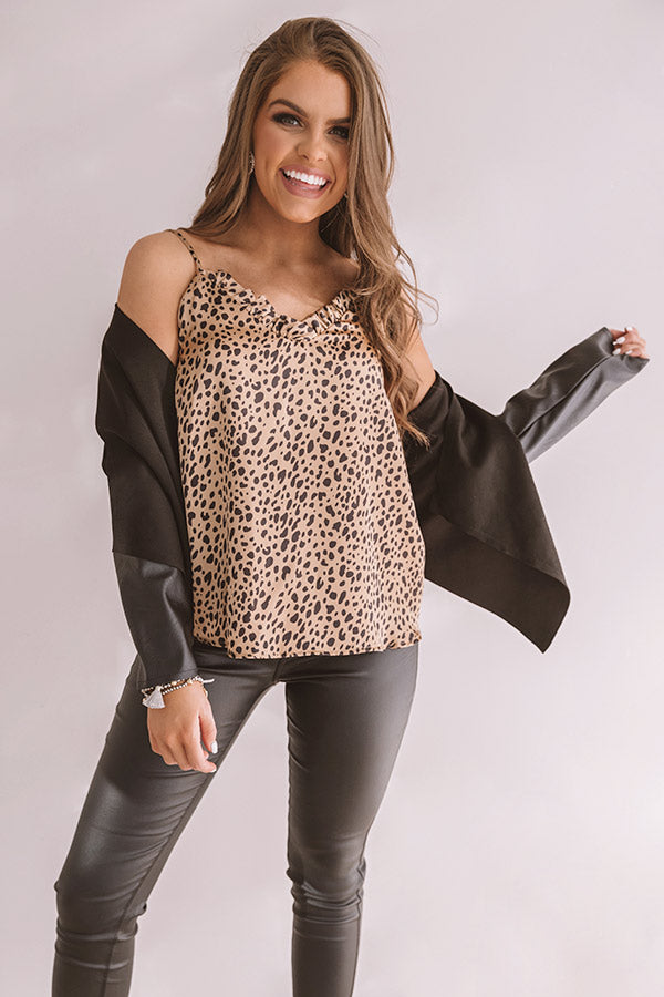 The Latest In Luxury Leopard Tank