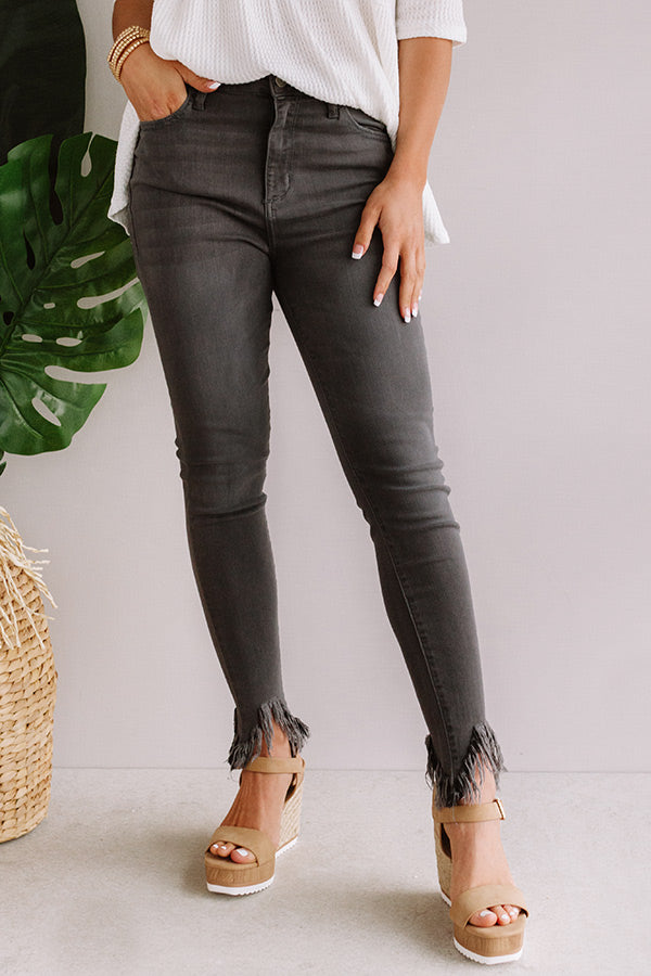 The Cora High Waist Ankle Skinny