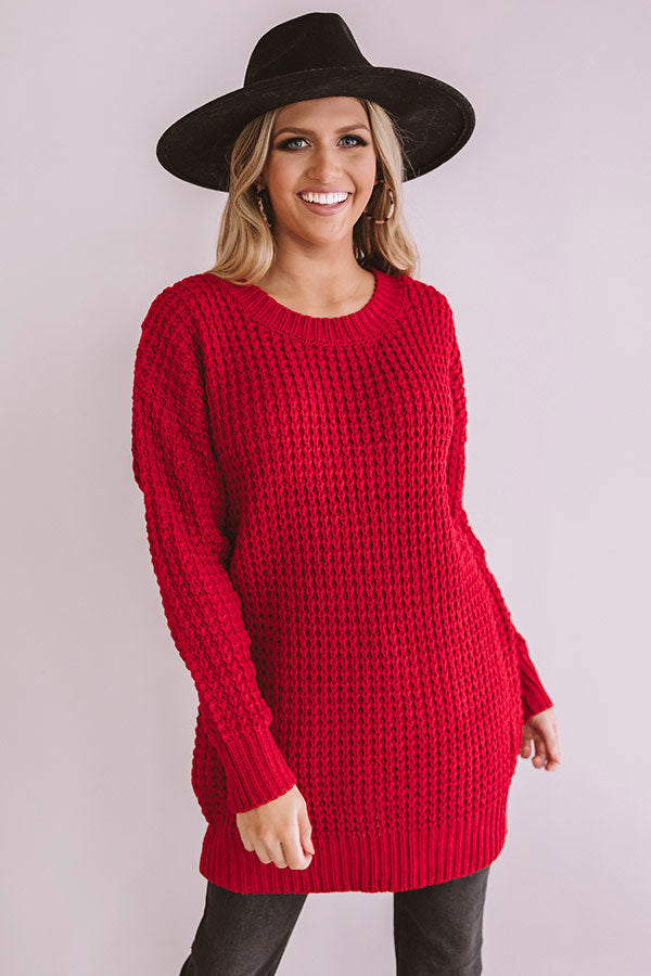 Very Merry Knit Tunic Sweater
