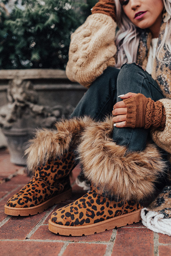 Getting Creative Leopard Boot