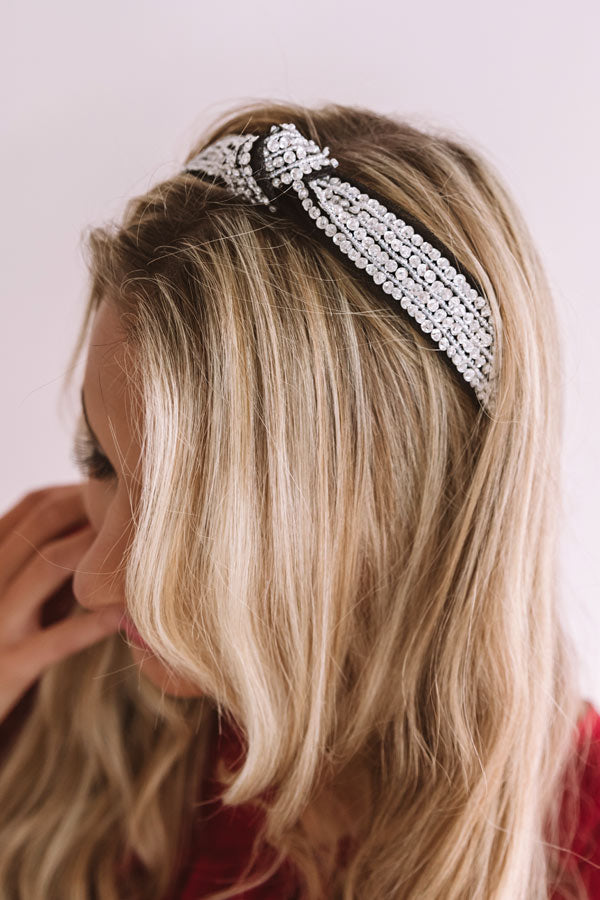 Subtle Shine Beaded Headband
