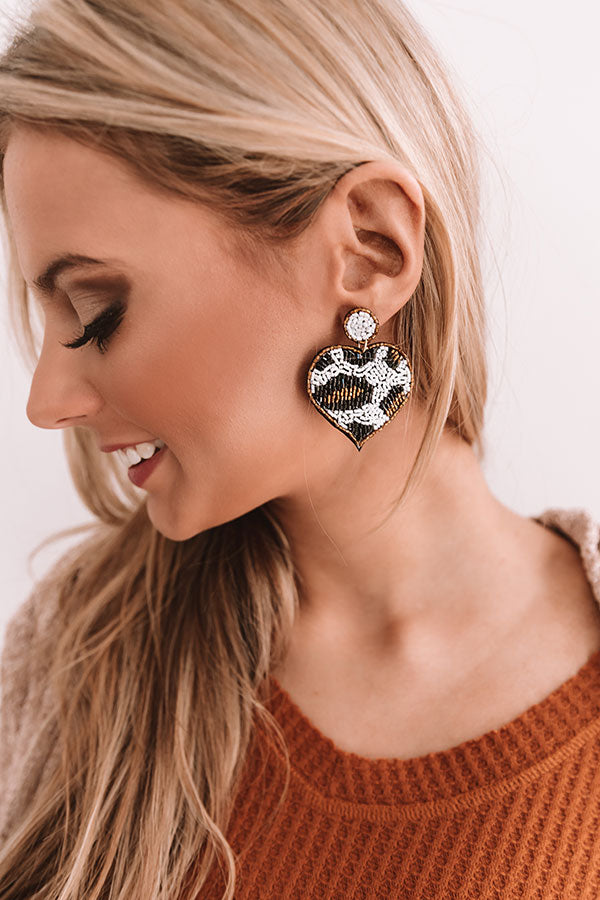 Party Anthem Leopard Earrings
