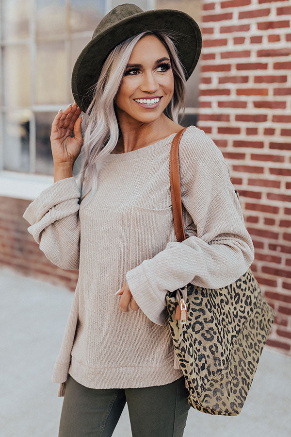 Simple Splendor Sweater Top
